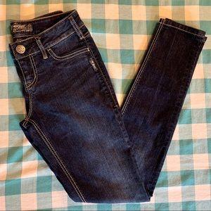 Silver Jeans Skinny Dark Wash Suki Jegging Jeans